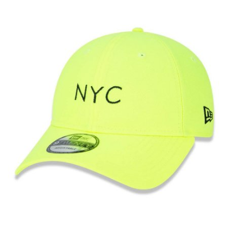 Boné 920 Simple Fluor NYC Amarelo - New Era