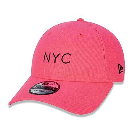 Boné 920 Simple Fluor NYC Coral - New Era