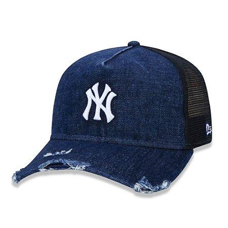 Boné New York Yankees 940 Destroyed Denim jeans - New Era