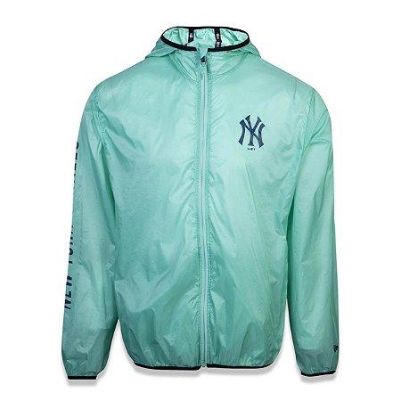 Jaqueta Windbreak New York Yankees Fraldada Colored Verde - New Era