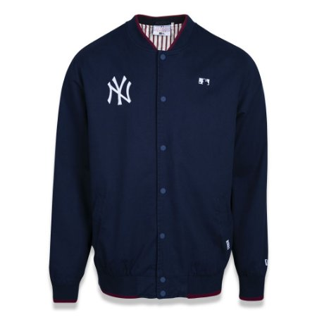 Jaqueta New York Yankees College Alkaline Bright Marinho - New Era