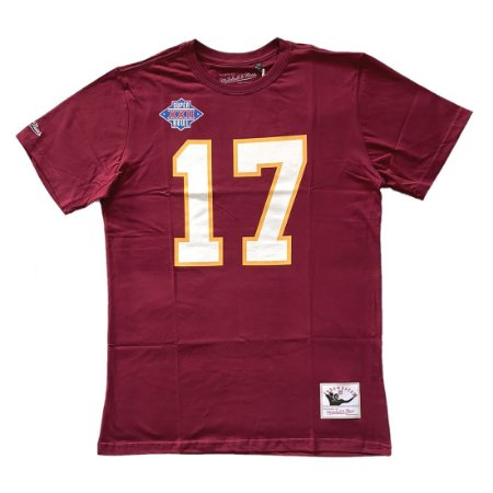 Camiseta NFL Washington Redskins Player 17 Doug Williams - M&N