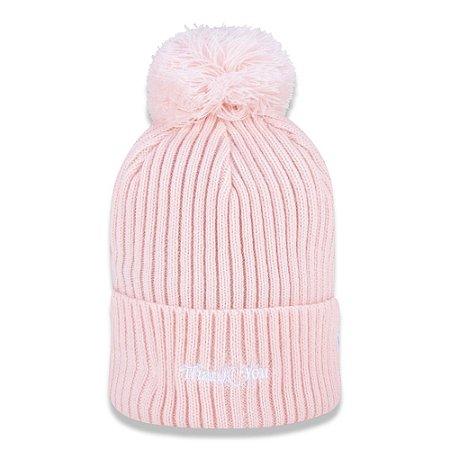 Gorro Girls Thank you Pink - New Era