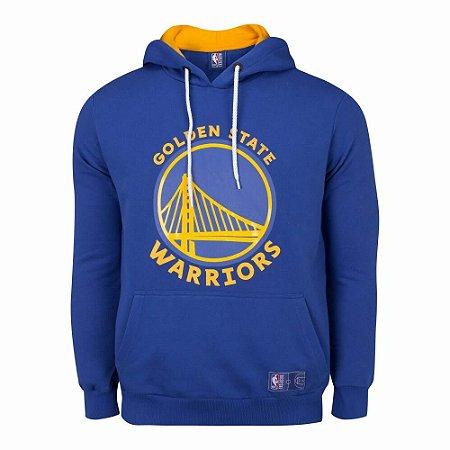 Casaco Moletom Golden State Warriors Canguru Logo - NBA