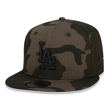 Boné Los Angeles Dodgers 950 Camuflado Woodland - New Era
