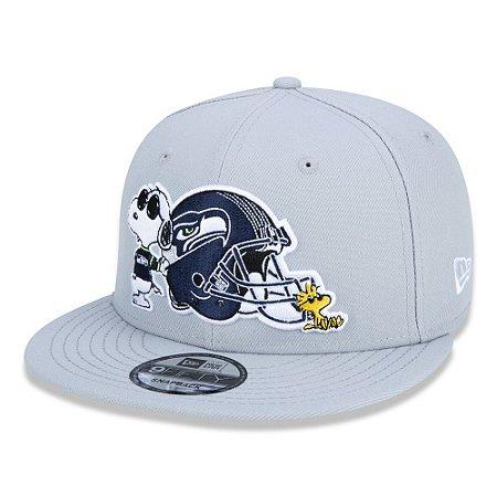 Boné Seattle Seahawks 950 Peanuts Snoopy - New Era