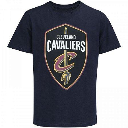 Camiseta Cleveland Cavaliers Big Logo Azul - NBA