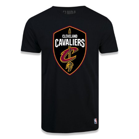 Camiseta Cleveland Cavaliers Big Logo Preto - NBA