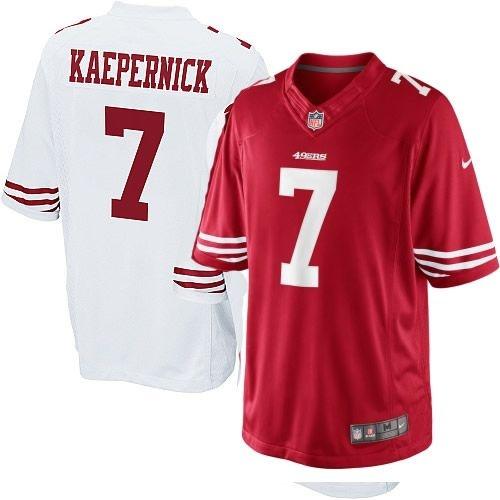 Camisa San Francisco 49ers Colin Kaepernick #7 Game