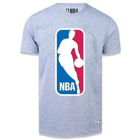 Camiseta LogoMan Big Logo Cinza - NBA