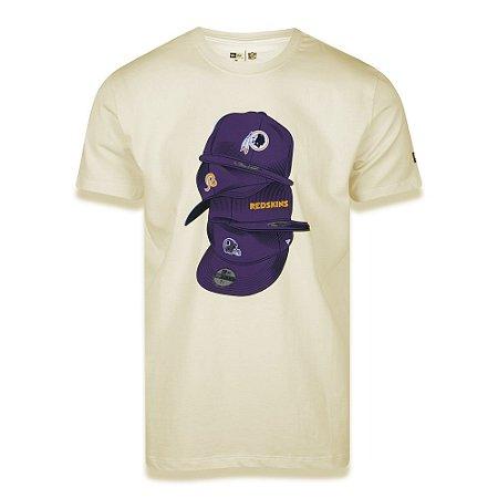 Camiseta Washington Redskins Under Dance Caps - New Era