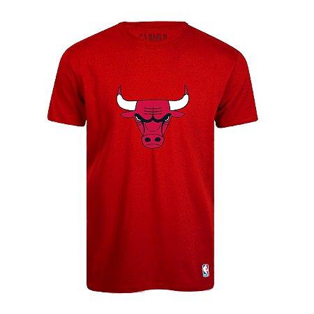 Camiseta Chicago Bulls Vinil Vermelho - NBA