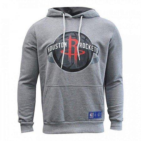 Casaco Moletom Houston Rockets Canguru Logo - NBA