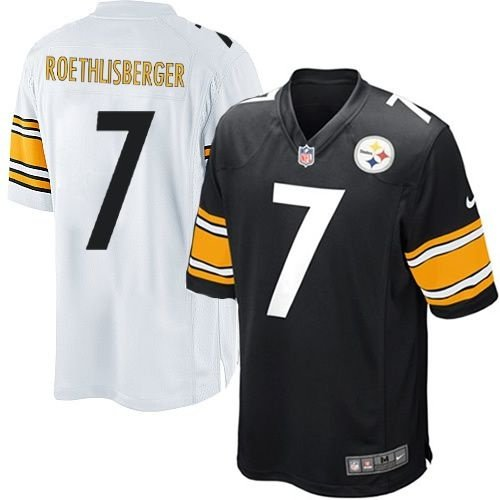 740a60ef45 Camisa Pittsburgh Steelers BIG BEN Roethlisberger 7 Game - FIRST ...