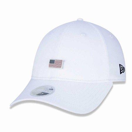 Boné 920 Cont us Flag EUA Branco - New Era