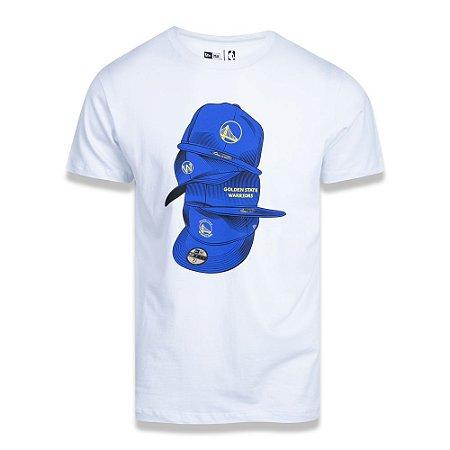 Camiseta Golden State Warriors Under Dance Caps - New Era