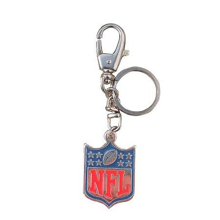 Chaveiro NFL Logo Metal Banhado a Níquel - NFL