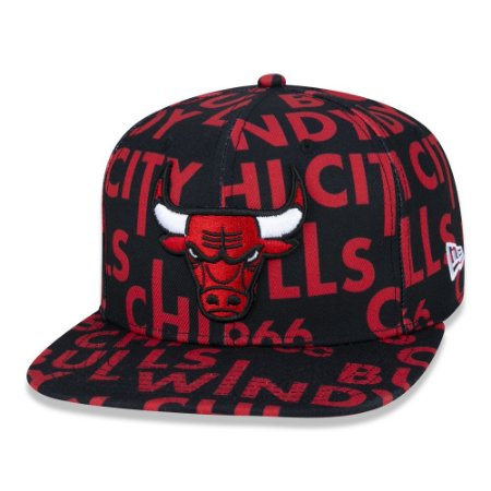 Boné Chicago Bulls 950 Logomania All Big - New Era