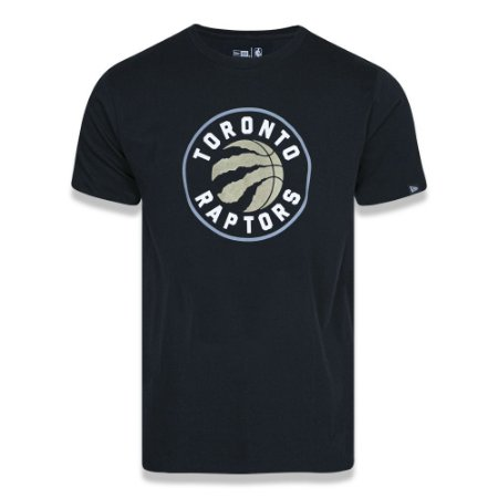 Camiseta Toronto Raptors Basic Logo NBA Preto - New Era