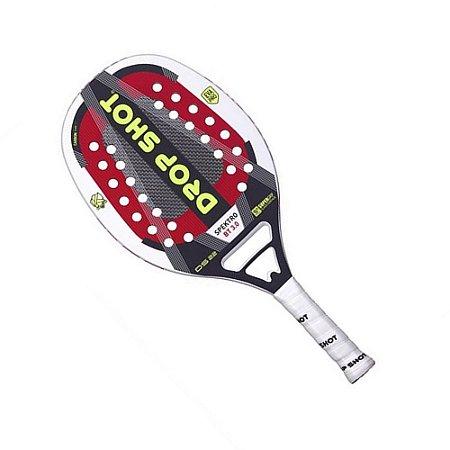 Raquete Beach Tennis Drop Shot Spektro BT 3.0 Branco
