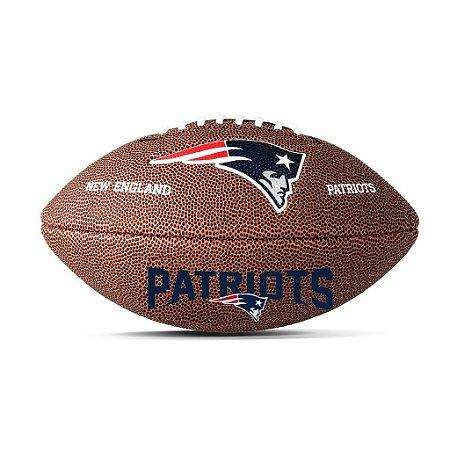 Bola Futebol Americano New England Patriots - NFL Wilson - FIRST ... 85a56c8d91c