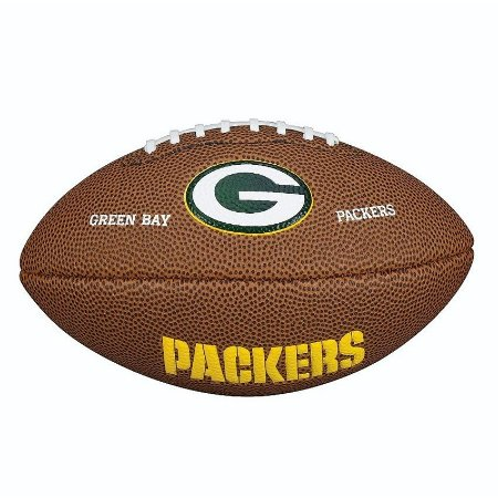 Bola Futebol Americano Green Bay Packers - NFL Wilson - FIRST DOWN ... df7f23d8240cd