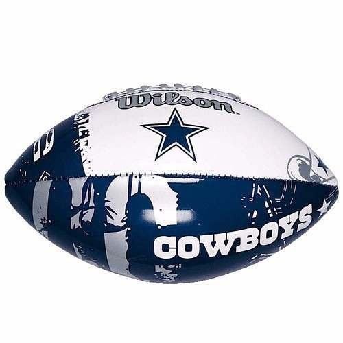 ac18581045 Bola Futebol Americano Dallas Cowboys - NFL Wilson - FIRST DOWN ...