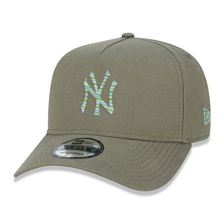 Boné New Era New York Yankees 940 Botany Melange Aba Curva