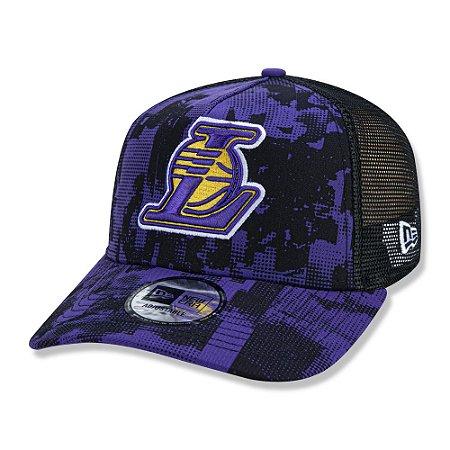 Boné New Era Los Angeles Lakers 940 Error Print Aba Curva