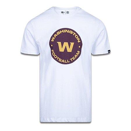 Camiseta New Era Washington Football Team Logo Time Branco