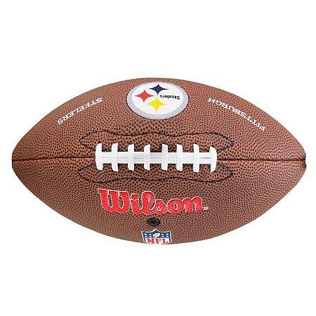 cf7696991 Bola Futebol Americano Pittsburgh Steelers - NFL Wilson - FIRST DOWN ...
