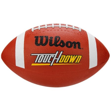 Bola Futebol Americano Touchdown Rubber Wilson - FIRST DOWN ... 4e019f7ad4858