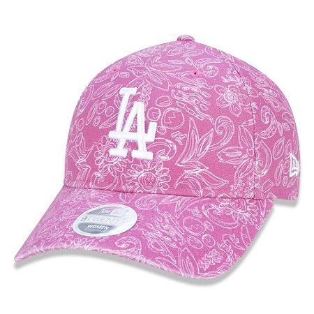 New Era Los Angeles Dodgers 920 Perfect Print Rosa Woman