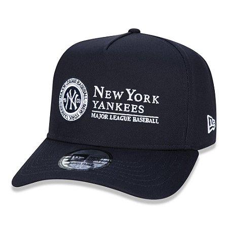 Boné New Era New York Yankees 940 University Aba Curva Azul