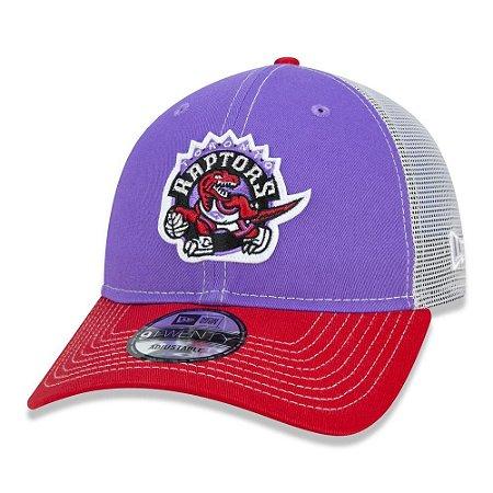 Boné New Era Toronto Raptors 920 Netback Vermelho Aba Curva