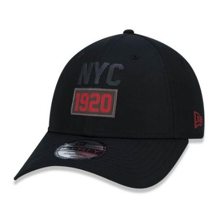 Boné New Era 940 Utilitary 1920 NYC Preto Aba Curva