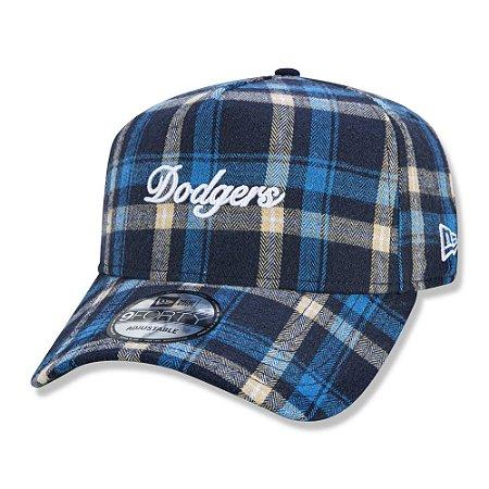 Boné New Era Los Angeles Dodgers 940 A-Frame Plaid Script