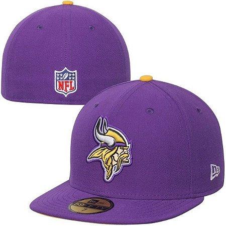 Boné NFL Minnesota Vikings 5950 - New Era - FIRST DOWN ... 991724fc7d301