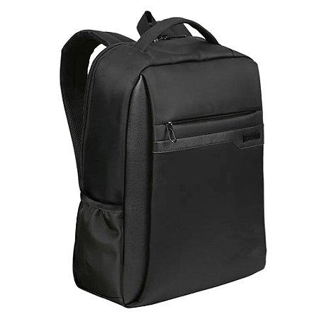 Mochila Sestini Laptop Slim Prime 2 Compartimentos Preto
