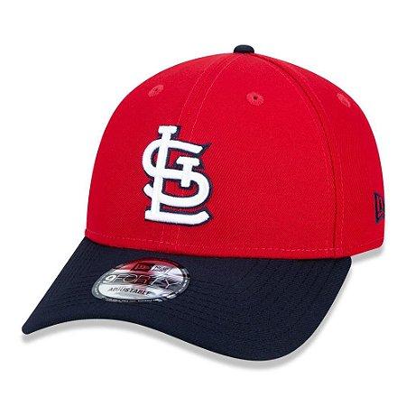 Boné New Era St. Louis Cardinals 940 Team Color Aba Curva