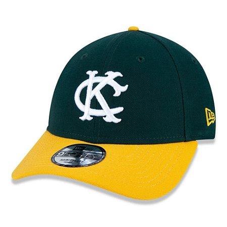 Boné New Era Kansas City Athletics 940 Team Color Aba Curva