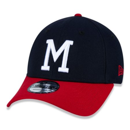 Boné New Era Milwaukee Braves 940 Team Color Aba Curva Azul