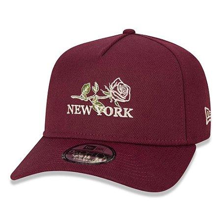 Boné New Era New York Yankees 940 Botany Flowers Aba Curva
