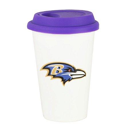 Copo de Café em Cerâmica Baltimore Ravens - NFL