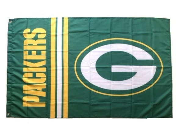 Bandeira Green Bay Packers NFL - Grande