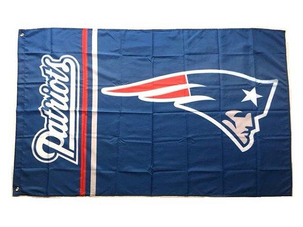 Bandeira New England Patriots NFL - Grande