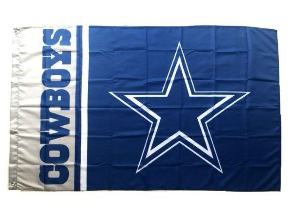 Bandeira Dallas Cowboys NFL - Grande