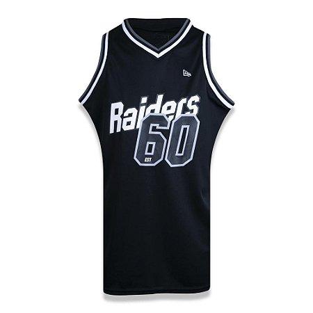 Regata New Era Las Vegas Raiders Jersey Core Preto