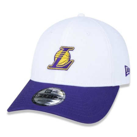 Boné New Era Los Angeles Lakers 940 Sport Logo NBA Aba Curva