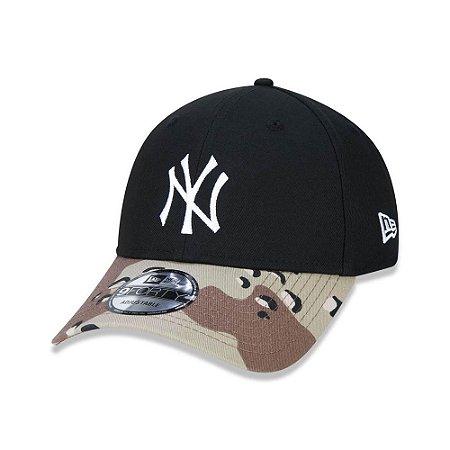 Boné New Era New York Yankees 940 Desert Camo Visor